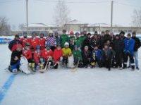 Заключительный этап чемпионата Ульяновской области по хоккею с мячом среди сельских команд.
