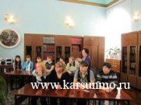 открылся 21 марта в Центральной библиотеке им. Н.М.Языкова поэтический подиум
