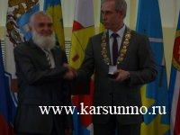 Вручение  государственных наград Российской Федерации и наград Ульяновской области, посвящённых Дню России.