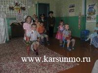 Агитпоезд в с. Сухой Карсун