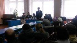 Встреча с родительским комитетом  Белозерской средней школы.