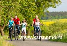 """Семейный велопробег """"Наша счастливая, здоровая семья"""""""