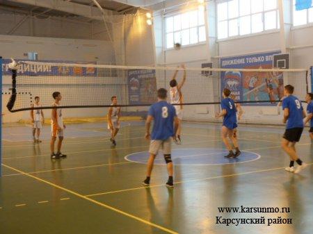 Групповой турнир Дивизиона «Запад» чемпионата по волейболу школьной спортивной Лиги Ульяновской области
