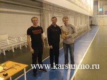 Новогодние соревнования по настольному теннису «Новогодний переполох»