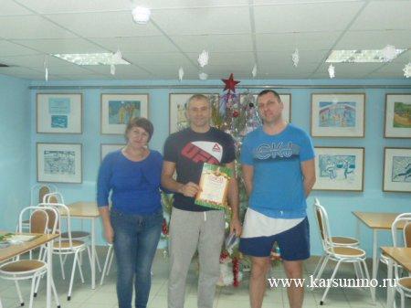 Новогодние соревнования по плаванию «Царь воды 2017»