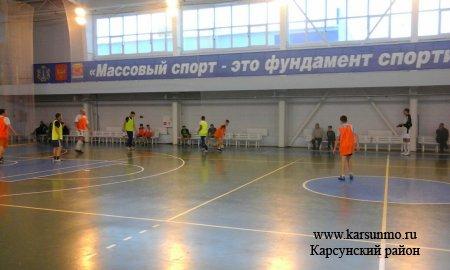 Новогодние соревнования по мини-футболу «Один за всех и все за одного»