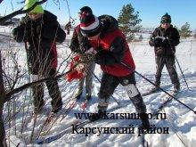Районные соревнования  по лыжному спортивному ориентированию
