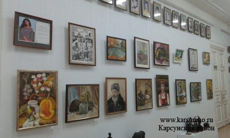 Выставки рисунков воспитанников  Карсунской ДШИ имени А. Пластова