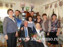 В Карсунском районе поздравили с юбилеем участницу Великой Отечественной войны