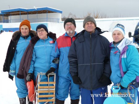Зимний фестиваль для граждан старшего поколения