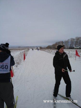 Районные соревнования по лыжным гонкам