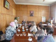 Встреча с представительницами общественных организаций Карсунского района