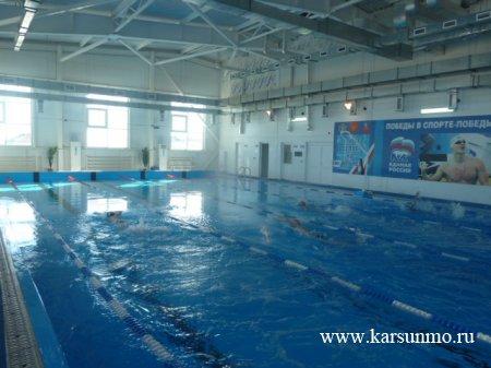Районные соревнования по плаванию