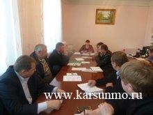 Встреча с Главами городских и сельских поселений по вопросам выборного законодательства