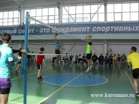 Соревнования по волейболу, посвящённые 370-летию Карсуна