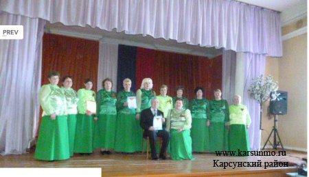 Участники из Карсунского района заняли призовые места на фестивале хоров «Песня – боевой друг»