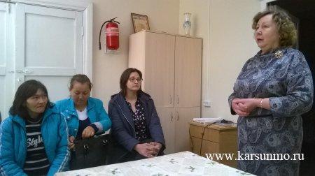 В Карсунском районе состоялось занятие в рамках «Школы будущих родителей»