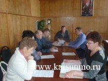 Заседание Общественного совета по профилактике коррупции в МО «Карсунский район»