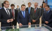 В Ульяновскую область прибыла делегация во главе с Председателем Правительства РФ Дмитрием Медведевым