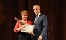Работник социальной защиты Карсунского района получил заслуженную награду