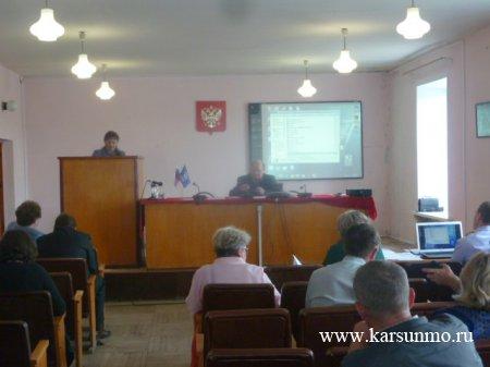 Заседание Совета национальностей при Главе администрации муниципального образования «Карсунский район»