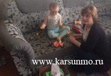 В Карсунском районе работала группа специалистов реабилитационного центра «Подсолнух»