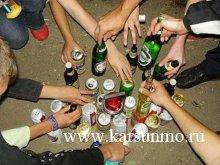 Борьба с пьянством в среде несовершеннолетних