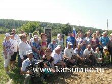 29 июля 2017 года   в поселке Ивановский был открыт памятник  солдатам- ивановцам, не вернувшимся с войны