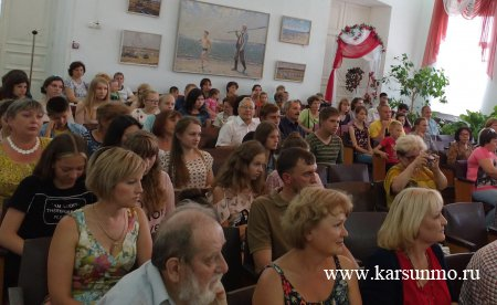 12 августа открылся 16-й  детско-юношеский пленэр «Земля  Аркадия Пластова»