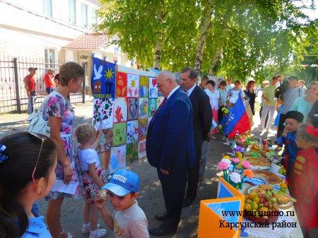 Детский сад «Медвежонок» в праздновании 370-летия Карсуна