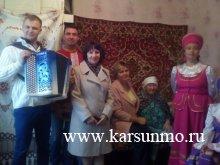 В Карсунском районе прошло чествование ветеранов труда на дому