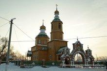 В восстановленном Богоявленском храме села Прислониха Ульяновской области состоялось первое богослужение