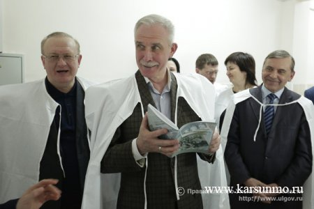 17 марта 2018 года - рабочая поездка Губернатора Ульяновской области С.И.Морозова в Карсунский район