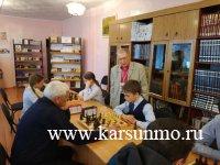 Районные соревнования по шахматам
