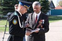 Вручения памятных знаков «В память военного парада в Куйбышеве 7 ноября 1941 г.»