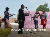 Торжественная церемония чествования 30-летнего юбилея супружества – «жемчужной свадьбы» семьи Хасяновых