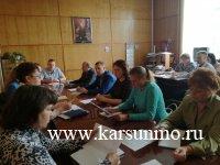 Заседание межведомственной комиссии по противодействию коррупции в муниципальном образовании «Карсунский район»