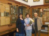 Внучка пламенного революционера В.Л.Вишнякова посетила Карсунский художественно-краеведческий музей