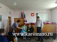 В Карсунском районе продолжается акция «Помоги собраться в школу»
