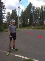 Соревнования среди лыжников Приволжского округа