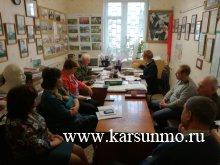 Заседание президиума районного Совета ветеранов