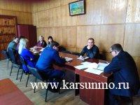 Заседание комиссии по профилактике наркомании, пьянства, алкоголизма