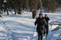 По культурно-туристическому маршруту «Серебряная лыжня»