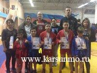 II-й открытый межрегиональный турнир по борьбе самбо