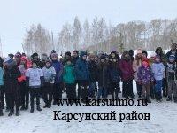 Традиционная лыжная эстафета на приз районной газеты «Карсунский вестник»