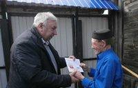 В Карсунском районе поздравили долгожителя