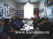 Заседание президиума районного Совета    ветеранов (пенсионеров) войны, труда,    Вооружённых Сил и     правоохранительных органов