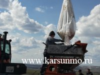 Сегодня в Карсунском районе приступили к подкормке озимых культур