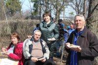 В Карсунском районе прошел областной субботник с участием граждан старшего возраста