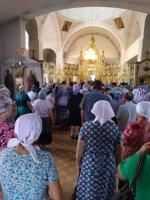Крестный ход с иконой Казанской Божьей Матери Жадовского монастыря